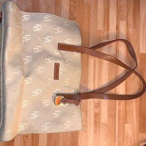 Dooney and Bourke canvas purse